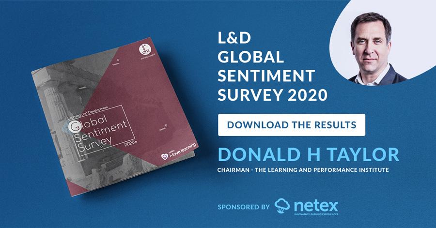 Download the L&D Global Sentiment Survey 2020